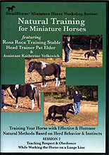 Natural Training for Miniature Horses: Session 2 by Pat Elder