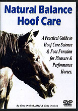 Natural Balance Hoof Care: A Practical Guide to Hoof Care Science & Foot Function for Pleasure & Performance Horses by Gene Ovnicek