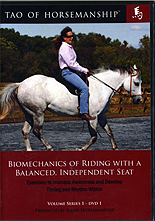 The Tao of Horsemanship - Biomechanics of Riding with a Balanced, Independent Seat by Caroline Rider
