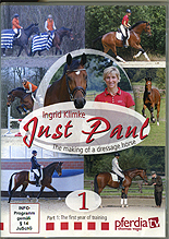 Just Paul - The Making of a Dressage Horse Vol 1 by Ingrid Klimke
