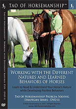 The Tao of Horsemanship - Working With the Different Natures and Learned Behaviors of Horses by Caroline Rider