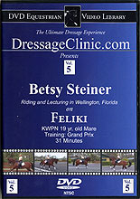 Betsy Steiner Riding & Lecturing Feliki by Betsy Steiner