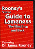 Rooney's Video Guide to Horse Lameness: The Hind Leg and Back by James Rooney