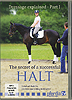 Dressage Explained Part 1: The Secret of a Successful Halt by Reinhart Koblitz