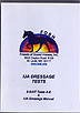 Gaited Dressage Vol 2 - 2-Gait Tests A-E AND IJA Dressage Manual by FOSH - Gaited
